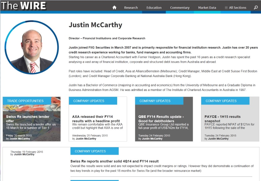 Contributor page Justin McCarthy