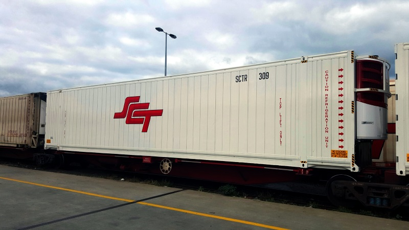 SCT freight train
