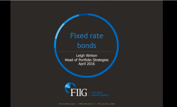 A bird's eye view on fixed and floating rate bonds