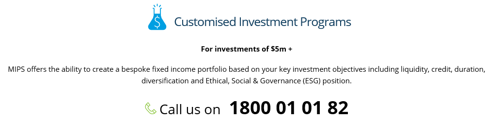 Customised Investment Programs