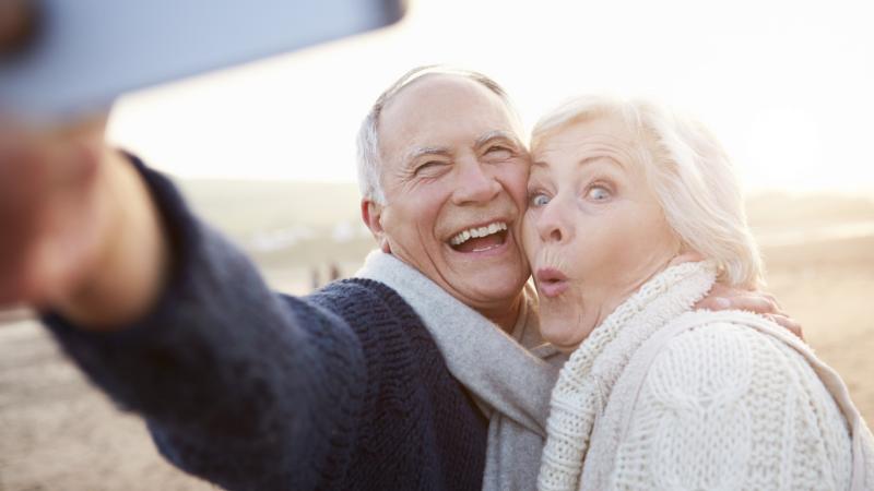 selfie-elderly