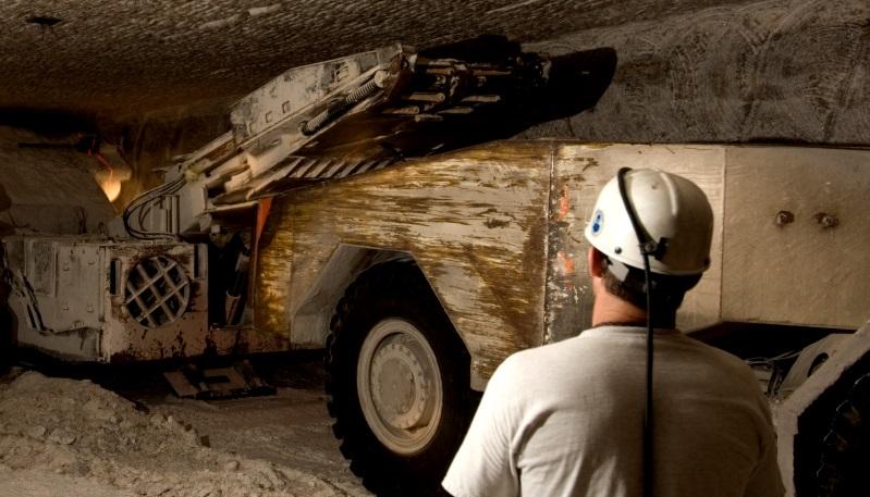 Underground mining operations