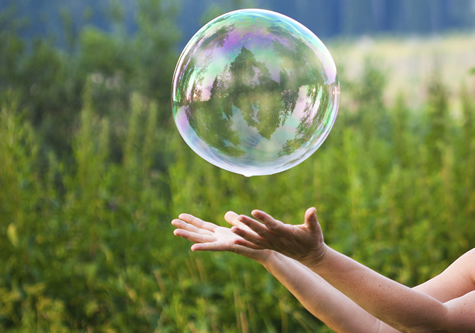 bubble_floating