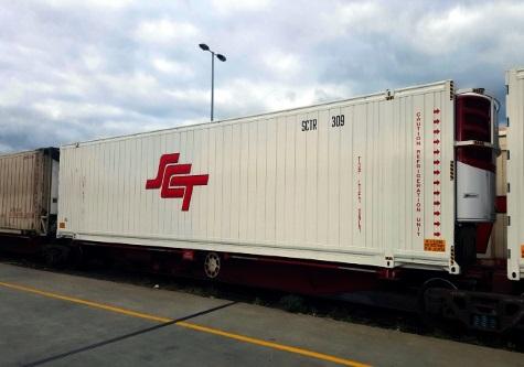 SCT freight train