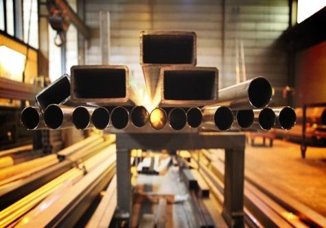 steel tubes factory