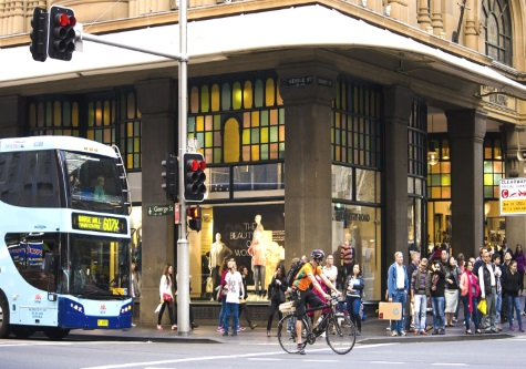 Sydney road crossing