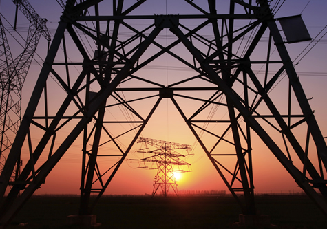 telephone_towers_sunset